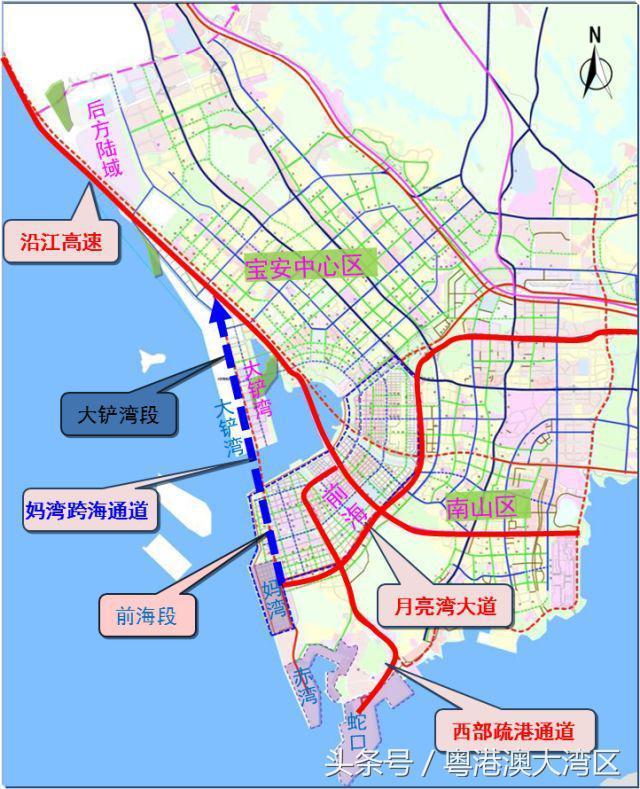 深圳首条海底隧道来了——妈湾跨海通道,年内动工!